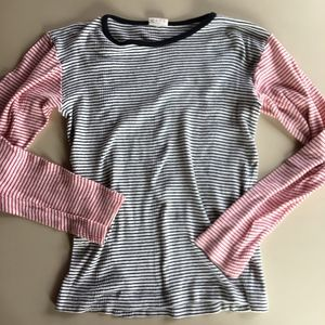 Edith A Miller Striped Jersey Top